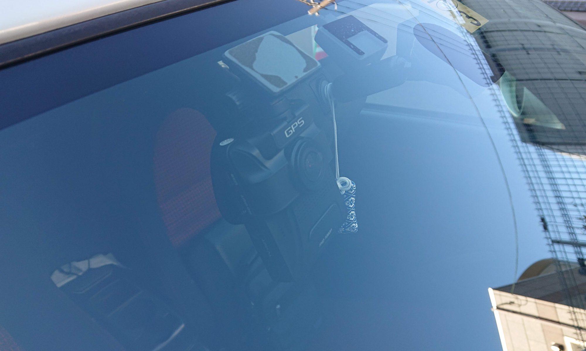 外から見たドライブレコーダー