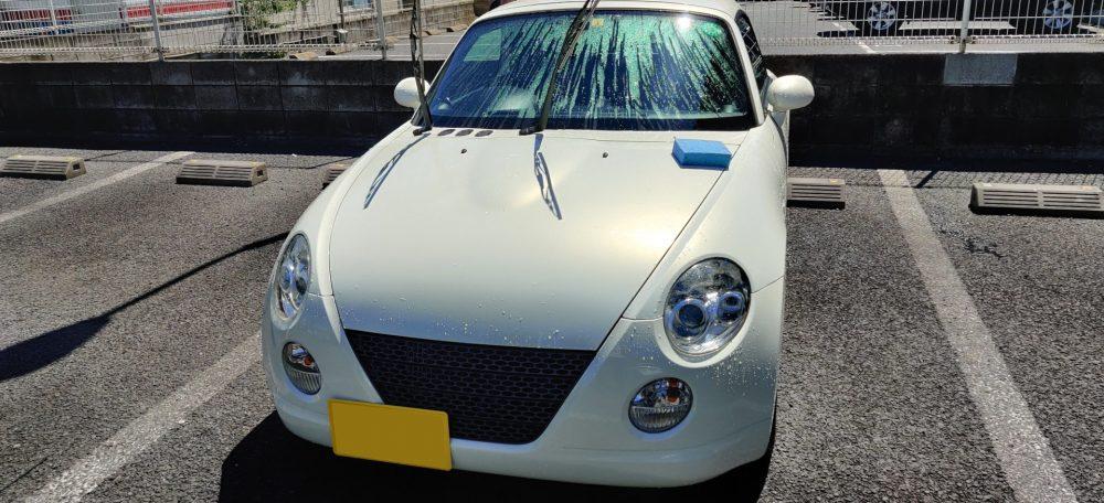 コペン洗車_2020_4_19